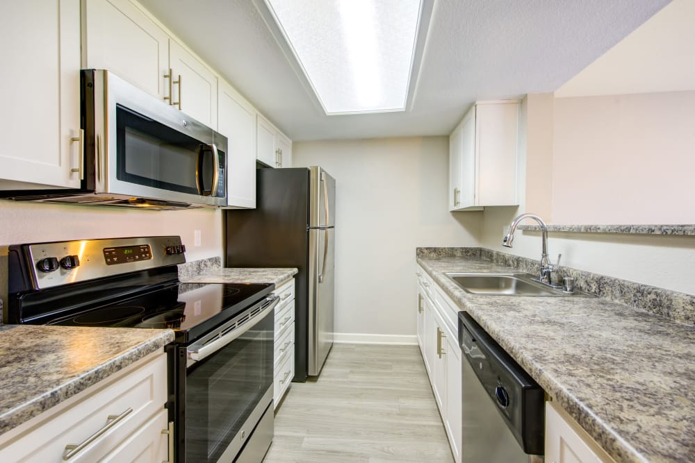 Modern kitchens at Alvista Terrace