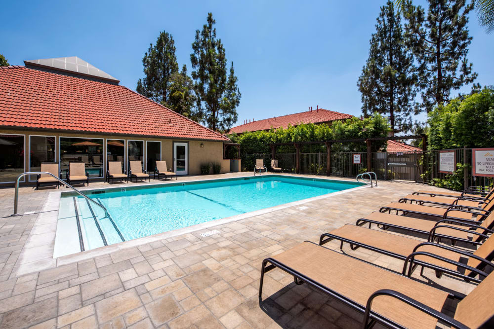Enjoy the resort-style pool at Alvista Terrace