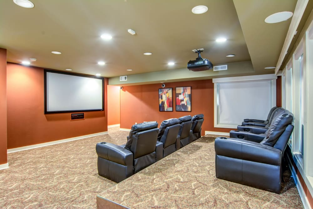 Our Apartments in Atlanta, Georgia offers a Movie Room