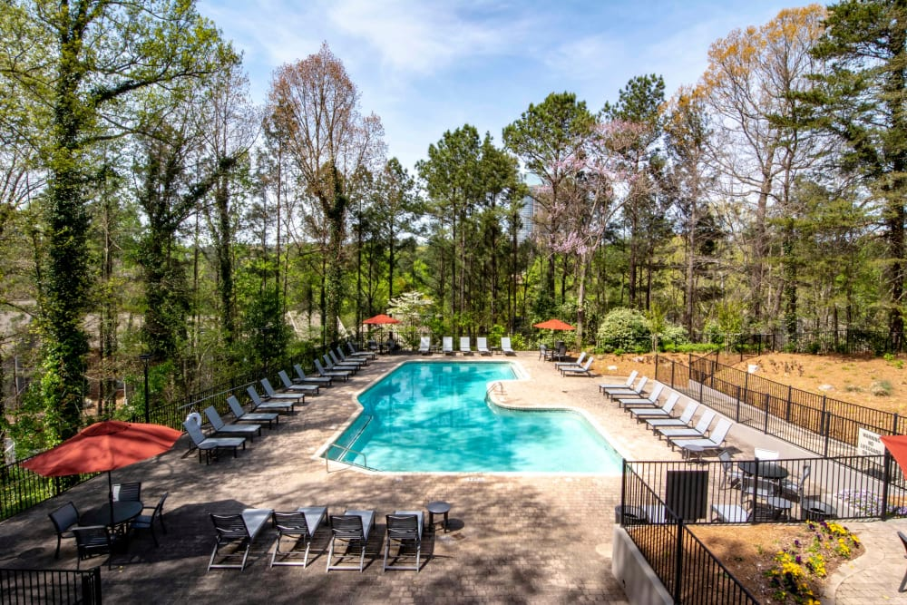 The Residences at Vinings Mountain offers a Swimming Pool in Atlanta, Georgia