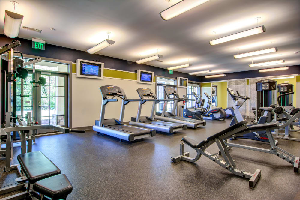 Our Apartments in Atlanta, Georgia offer a Fitness Center