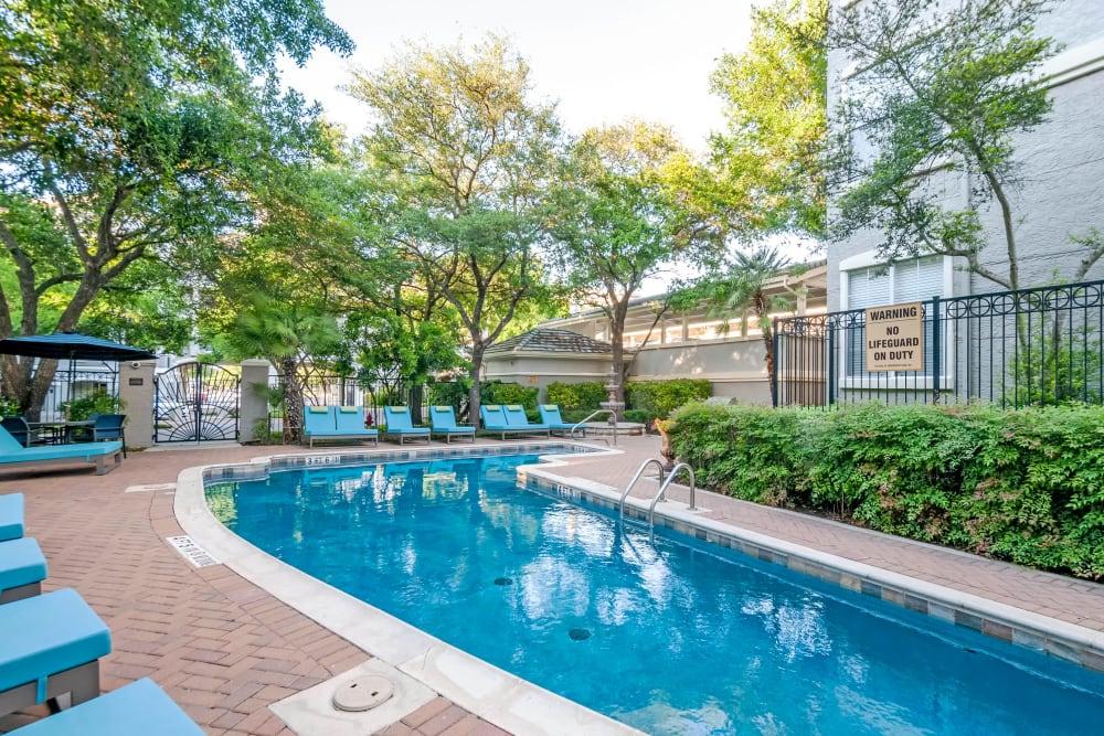 Swimming Pool at Meridian Apartments in San Antonio, Texas