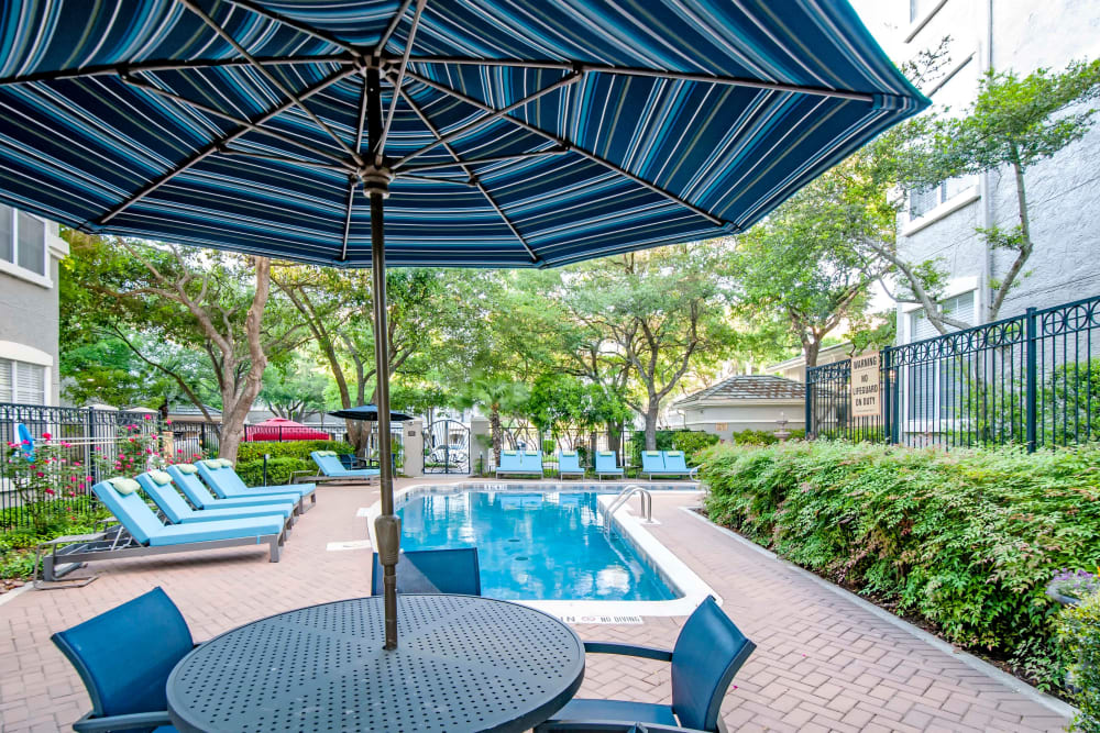 Enjoy Apartments with a Swimming Pool at Meridian Apartments in San Antonio, Texas