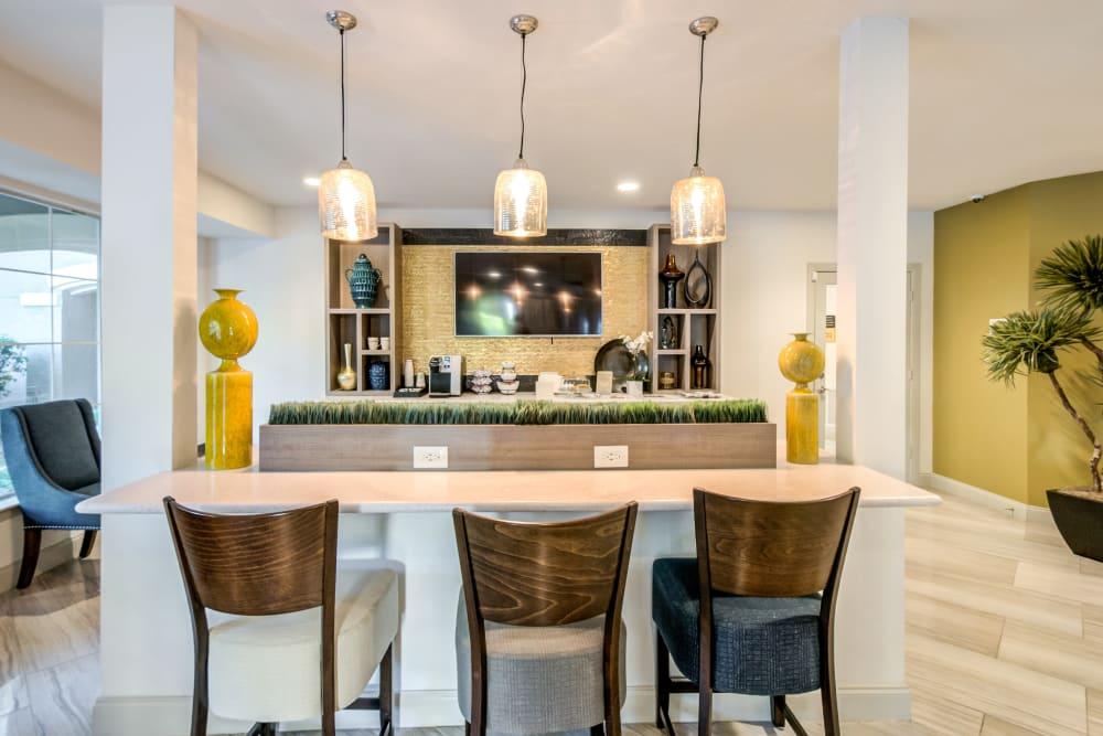Leasing Office Lounge at Meridian Apartments in San Antonio, TX