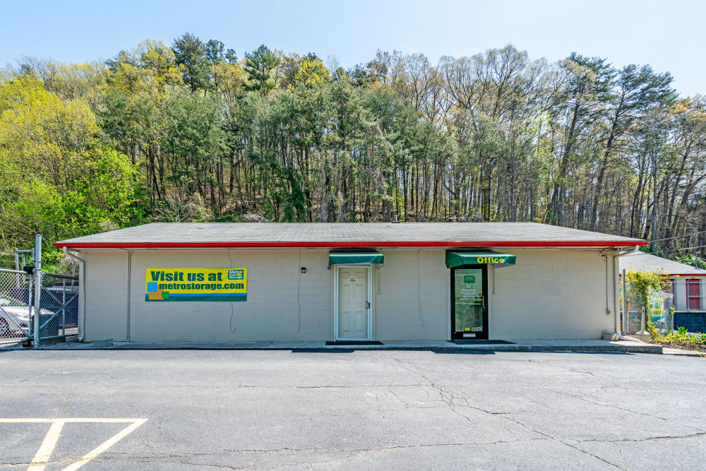 Office at Metro Self Storage in Knoxville, TN