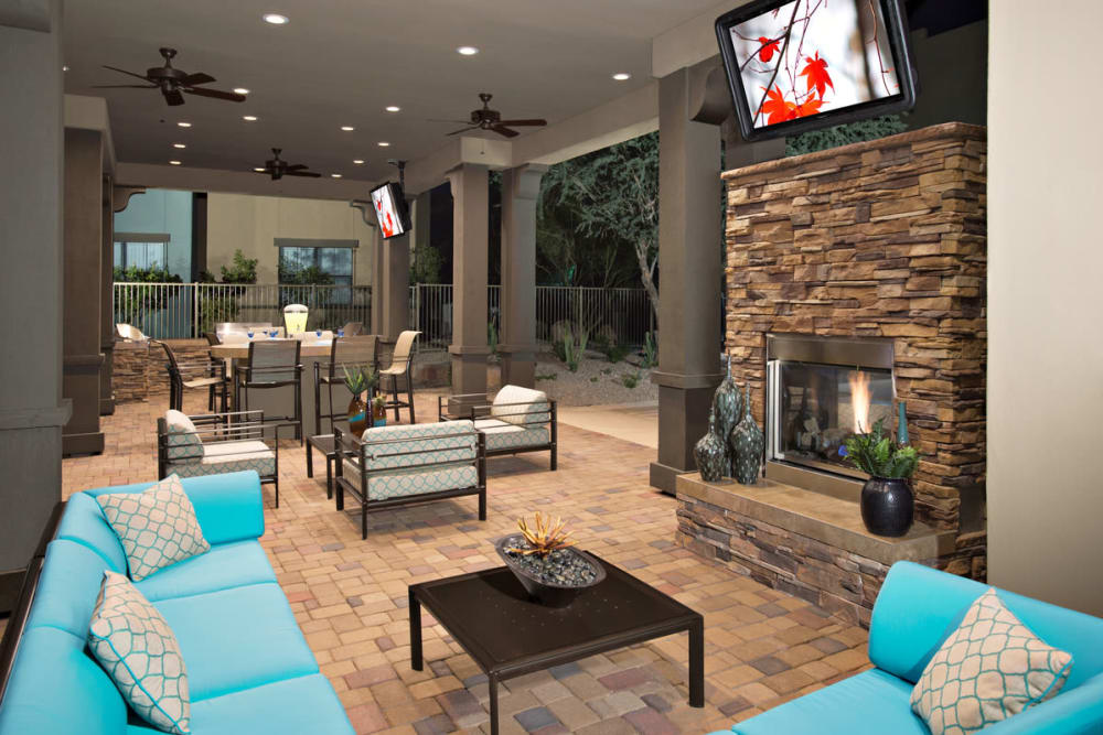 Entertain room at Las Colinas at Black Canyon in Phoenix, Arizona