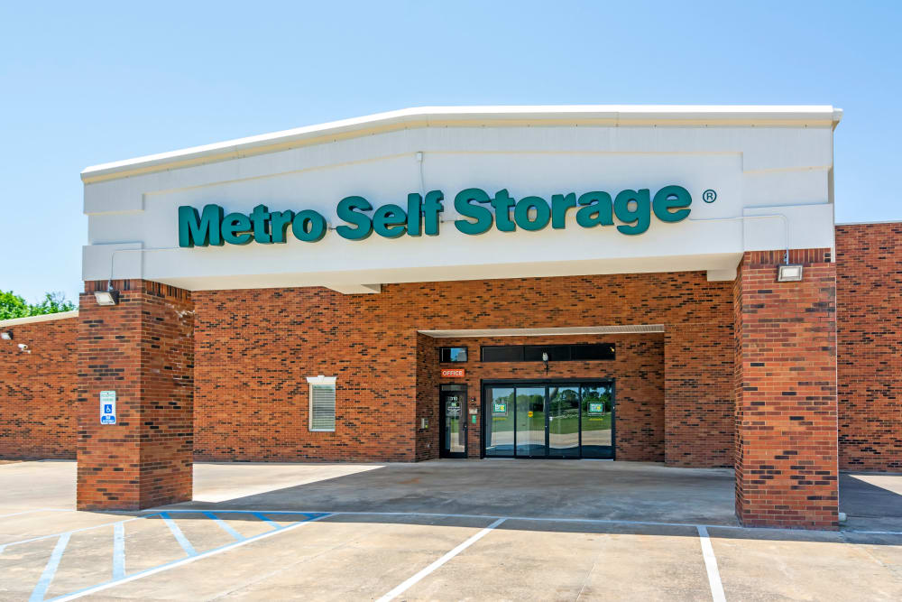 Entrance at Metro Self Storage in Montgomery, AL