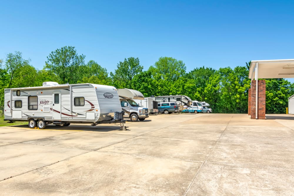 RV Parking at Metro Self Storage in Montgomery, AL