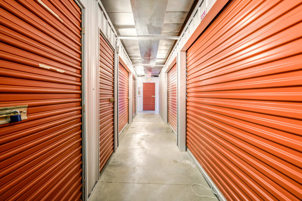 Indoor units at Metro Self Storage in Knoxville, TN