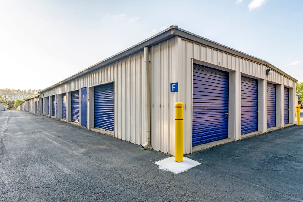 Self Storage units at Metro Self Storage in Marietta, GA