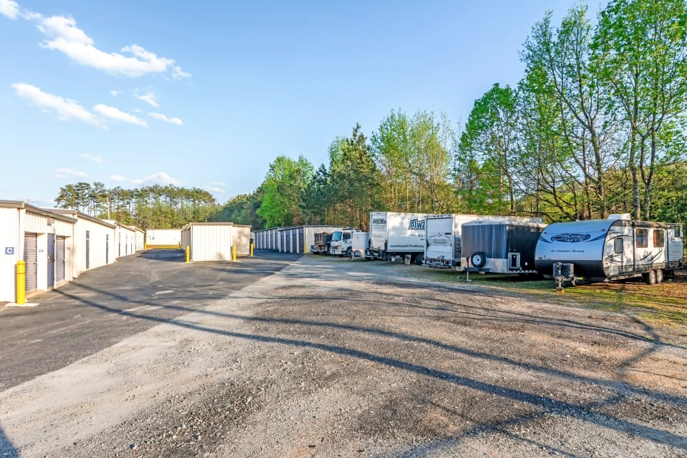 RV Parking at Metro Self Storage in Marietta, GA
