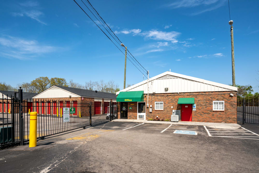 Gated Facilities at Metro Self Storage in Knoxville, TN