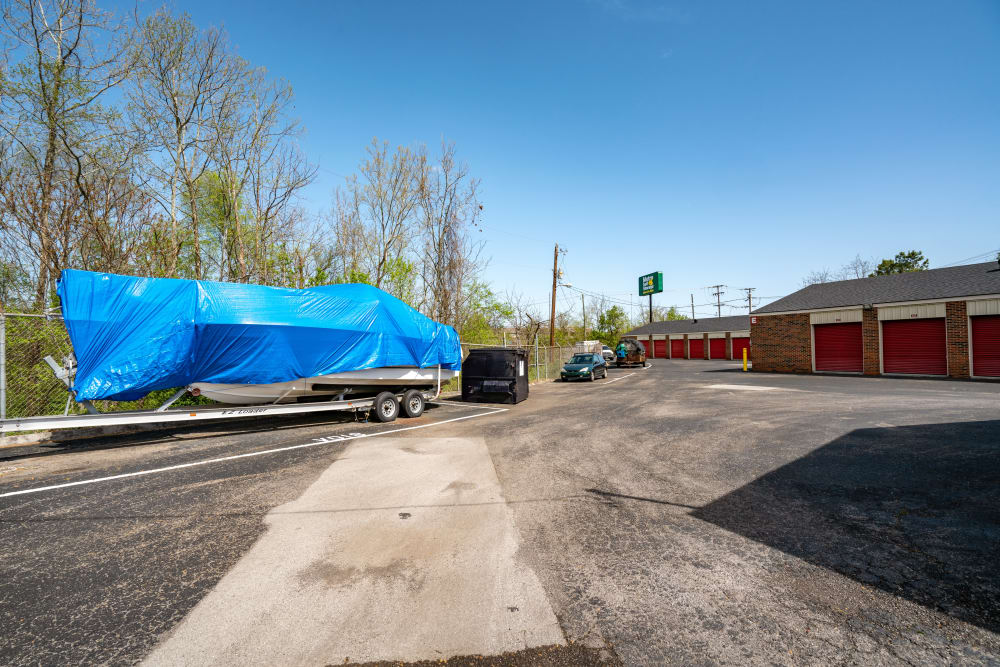 RV and Trailer Parking at Metro Self Storage in Knoxville, TN