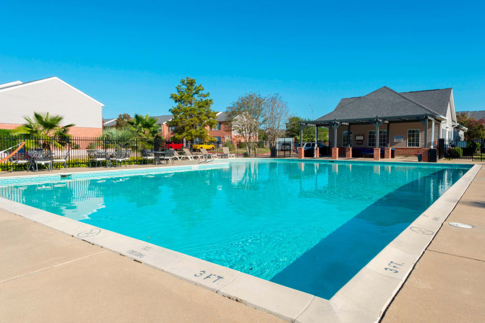 Swimming pool at Parcside in College Station, Texas