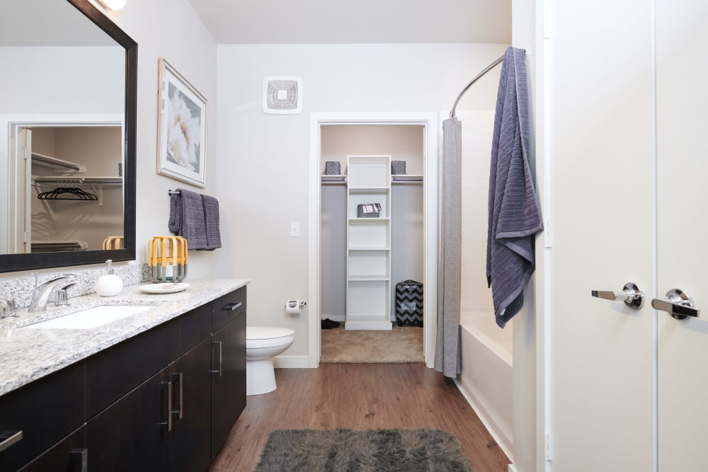 Bathroom at The Kennedy in San Antonio, TX
