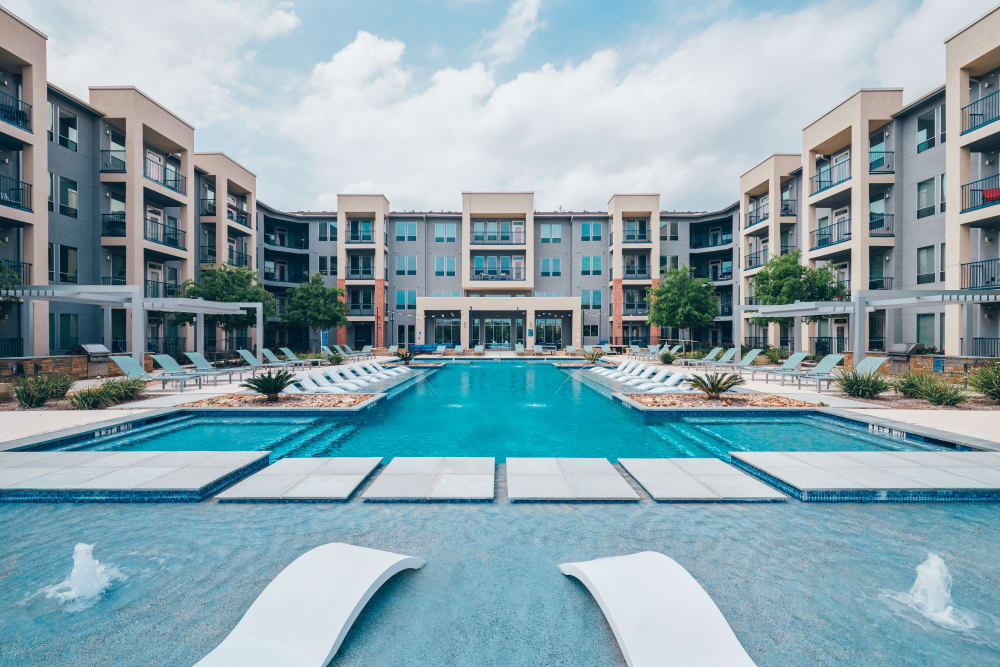 A look at the pool at The Kennedy in San Antonio, TX
