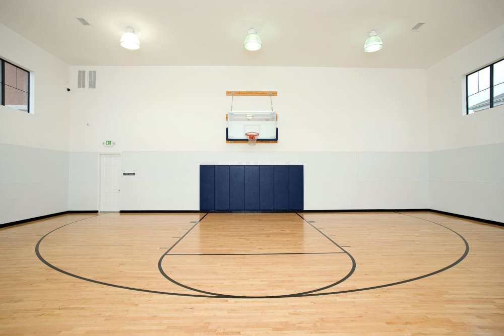 Basketball court at Onion Creek Luxury Apartments in Austin, Texas