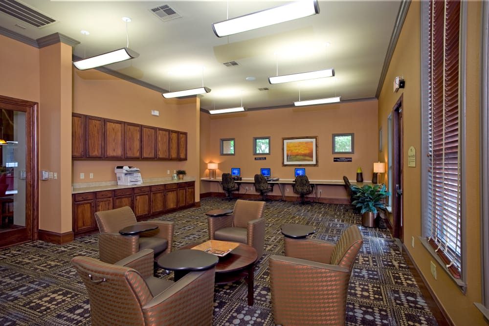Clubhouse at Onion Creek Luxury Apartments in Austin, Texas
