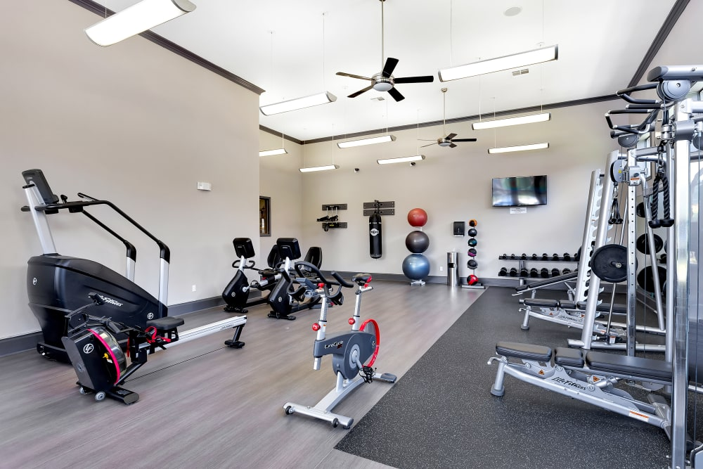 Onion Creek Luxury Apartments offers a state-of-the-art fitness center in Austin, Texas