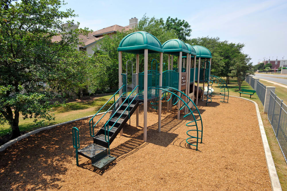 Playground at Sedona Ranch Apartments in San Antonio, Texas