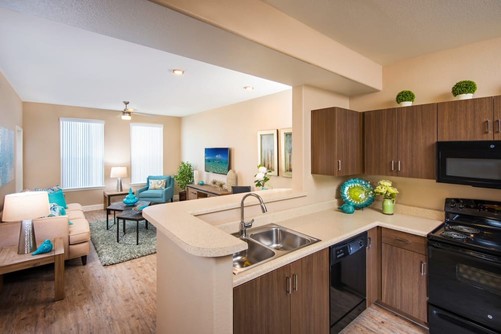Our apartments in Mesa, Arizona showcase a luxury kitchen