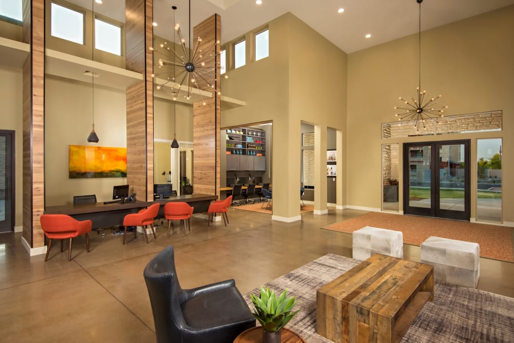 Lobby at Southern Avenue Villas in Mesa, Arizona