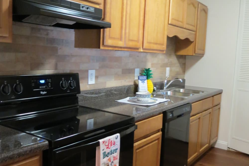 Deane Hill offers a well-equipped kitchen in Knoxville, Tennessee