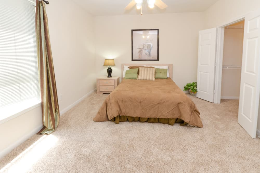 Cozy bedroom at Pinnacle Heights in Antioch, Tennessee