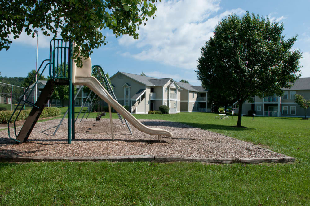 Playground area at Spring Meadow in Knoxville, Tennessee