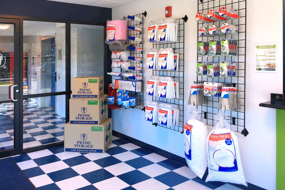 Get your packing and moving supplies at Prime Storage in Mechanicville, New York