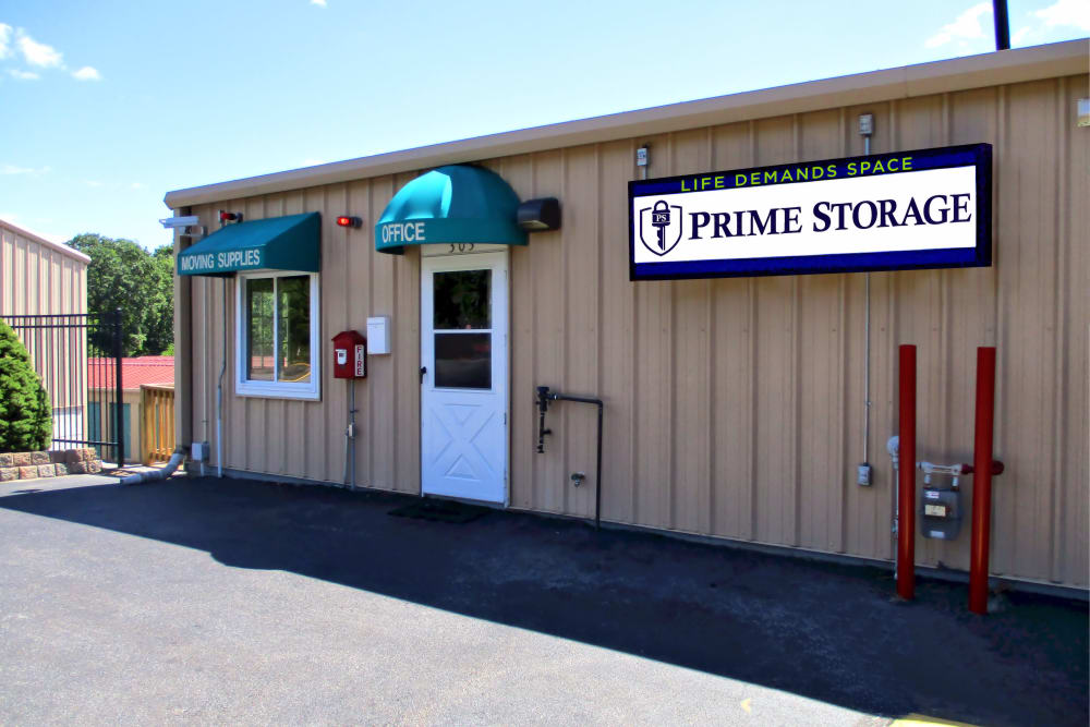 Leasing Office At Prime Storage In Dracut, Massachusetts