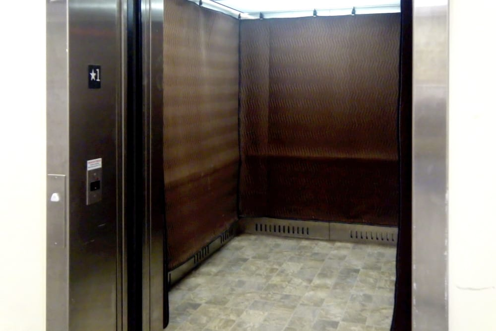 Elevator at Prime Storage in Cinnaminson, New Jersey