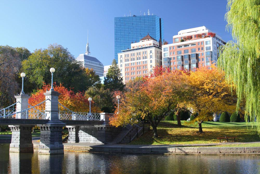 Bridge near Boylston Crossing Apartment Homes in Boston, MA