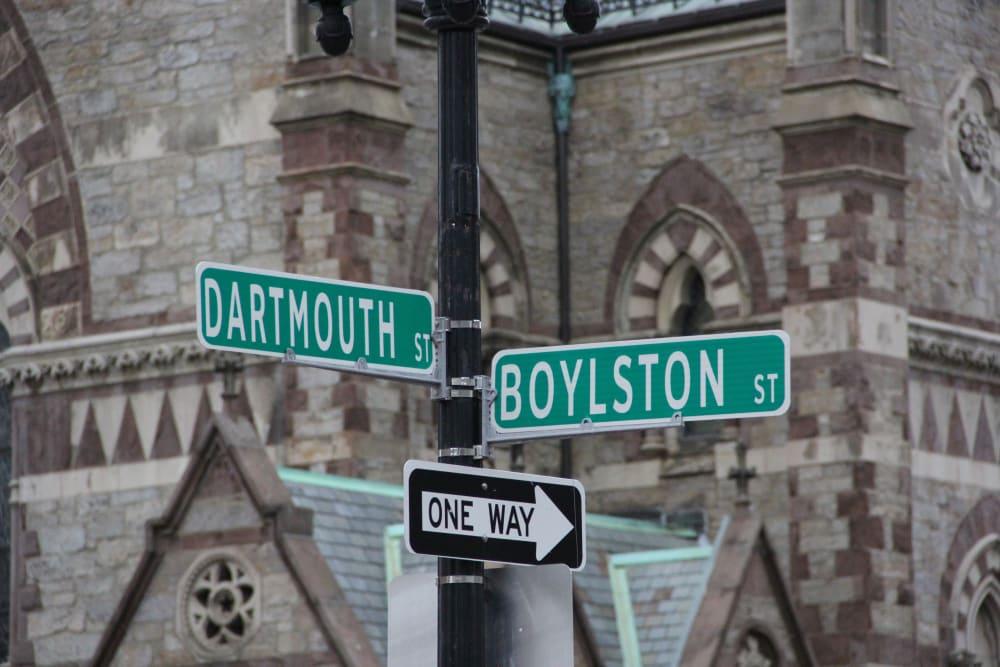 Streets near Boylston Crossing Apartment Homes in Boston, MA