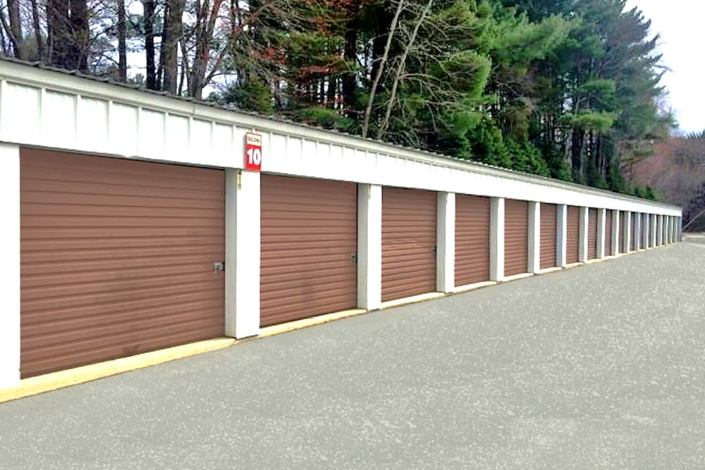 Drive-up access units available at Seacoast Mini Storage in Seabrook, New Hampshire