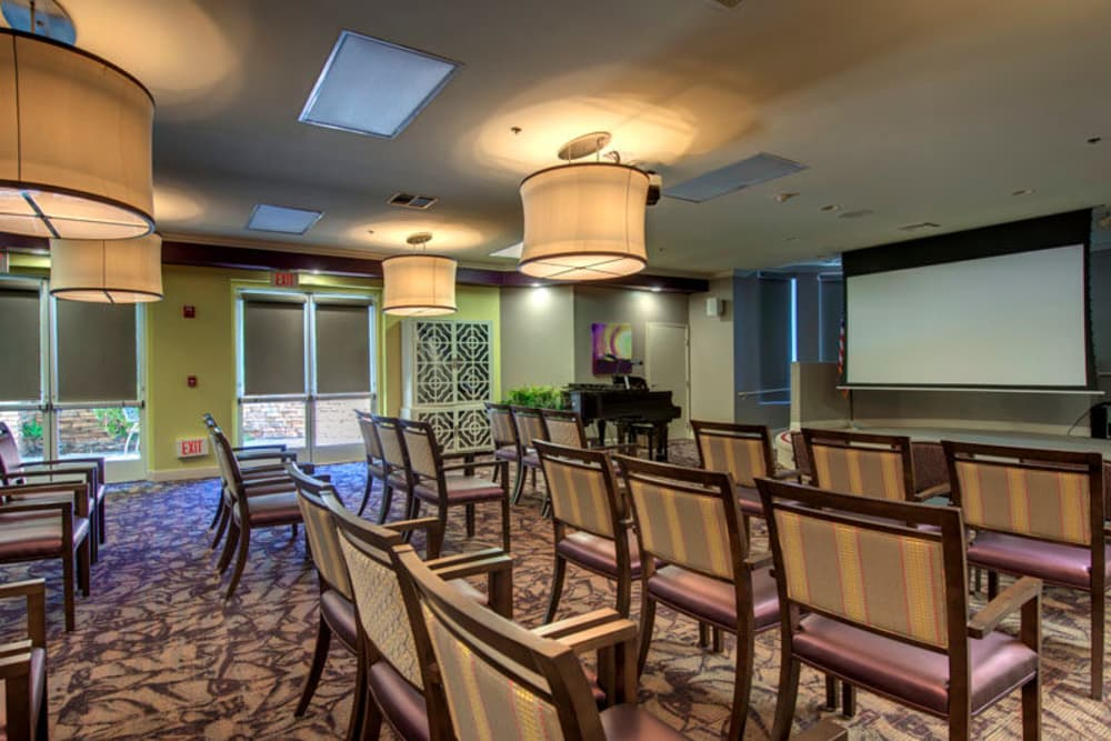 Regency Grand at West Covina offers a Theater that is great for entertainment in West Covina, CA