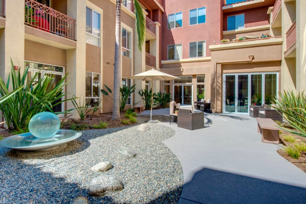 Courtyard at Regency Grand at West Covina in West Covina, CA