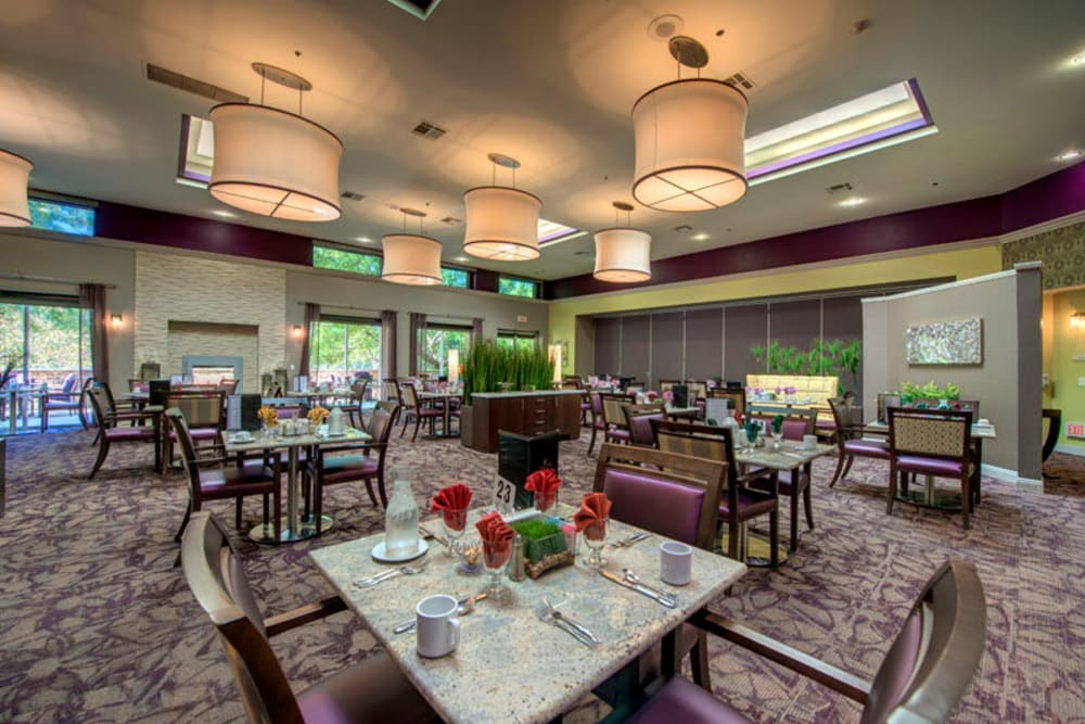 Regency Grand at West Covina dining room in West Covina, CA