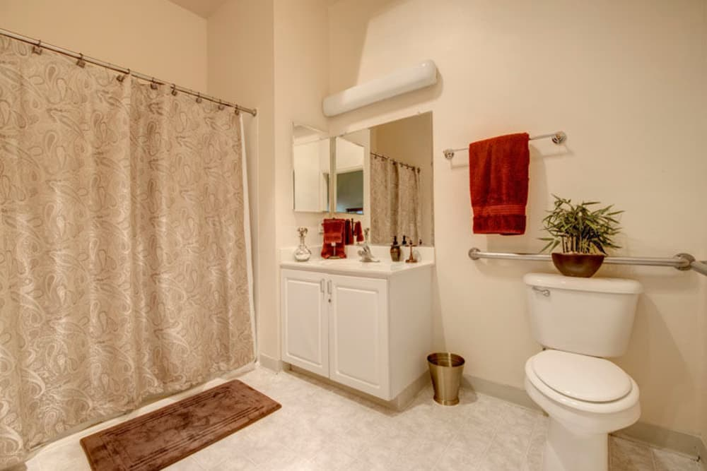 Spacious Bathroom at Regency Grand at West Covina in West Covina, CA