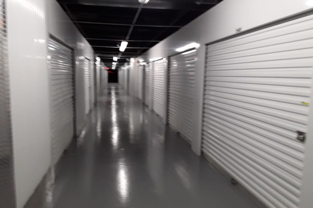 Interior units at Prime Storage in Warren, Rhode Island