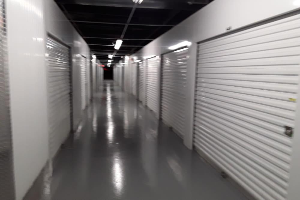 Interior units at Prime Storage in Warren, Rhode Island
