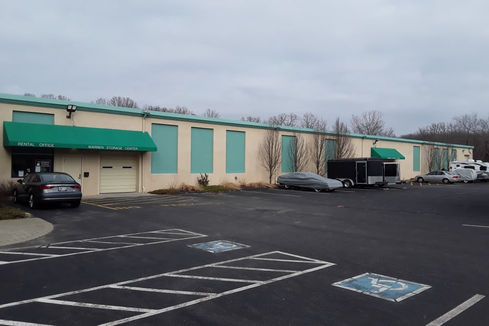 Exterior of Prime Storage in Warren, Rhode Island