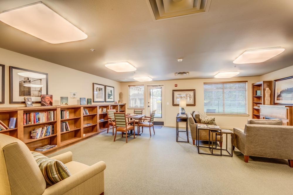 Library at Affinity at Olympia