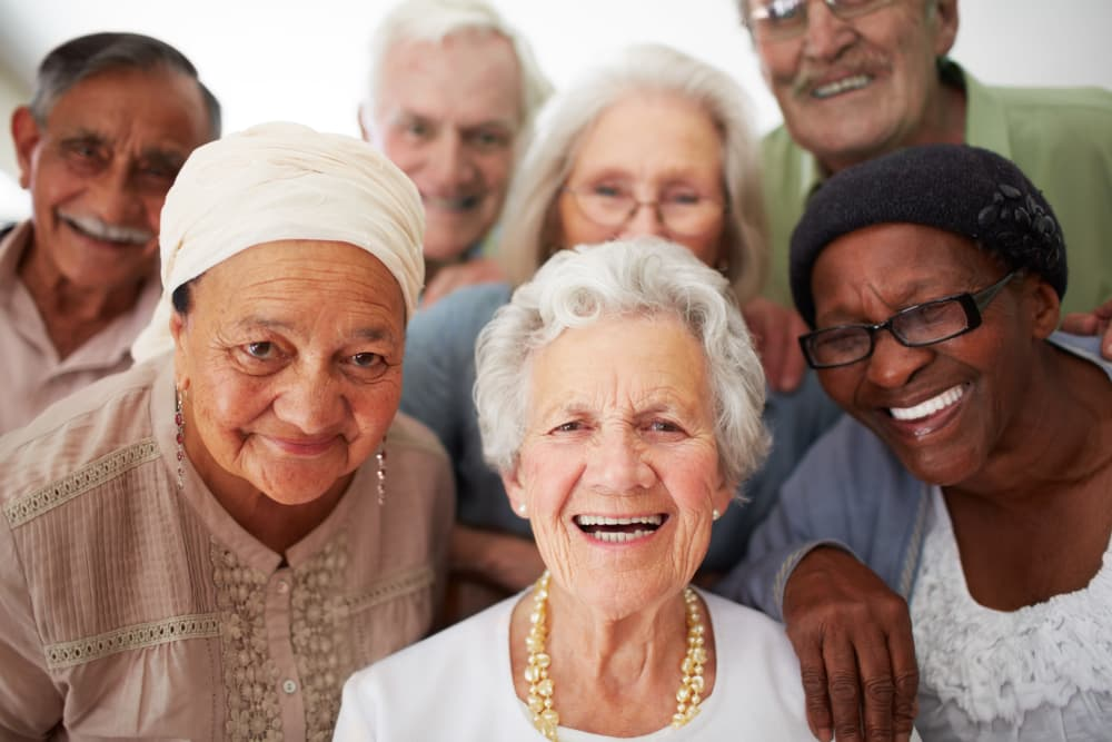 Happy residents at Pine Grove Crossing in Parker, Colorado