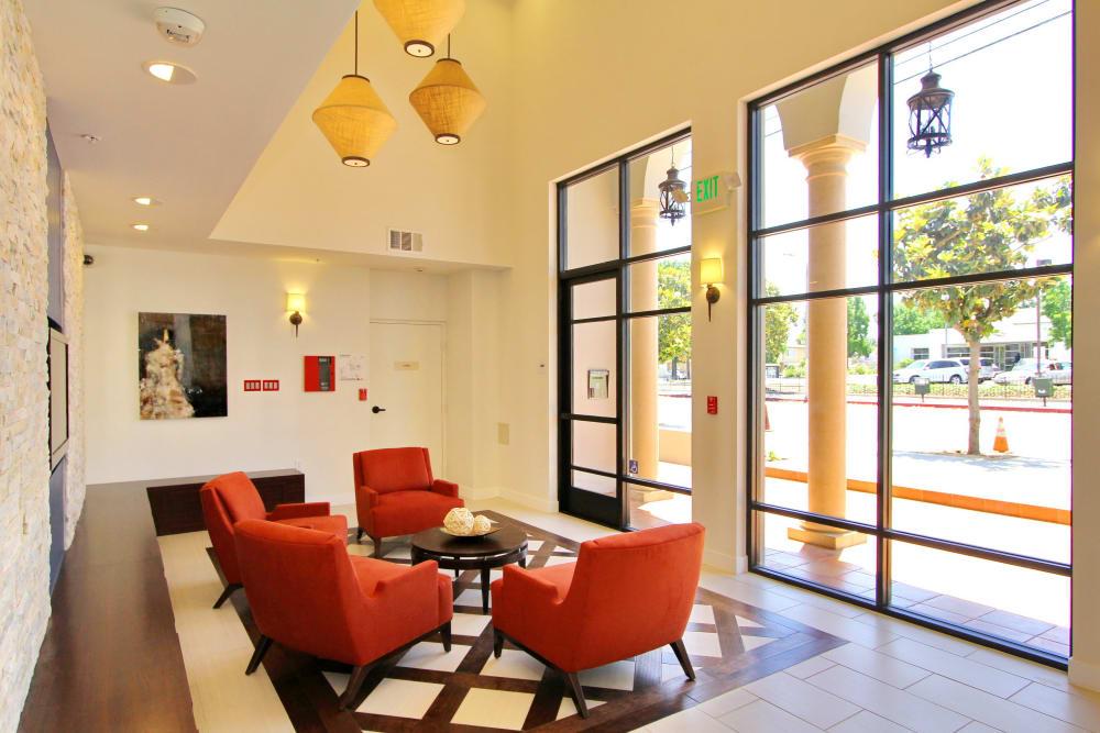 Main entrance interior at IMT Magnolia in Sherman Oaks, CA