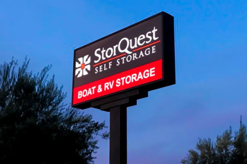 RV Storage at StorQuest RV and Boat Storage in Moreno Valley, CA