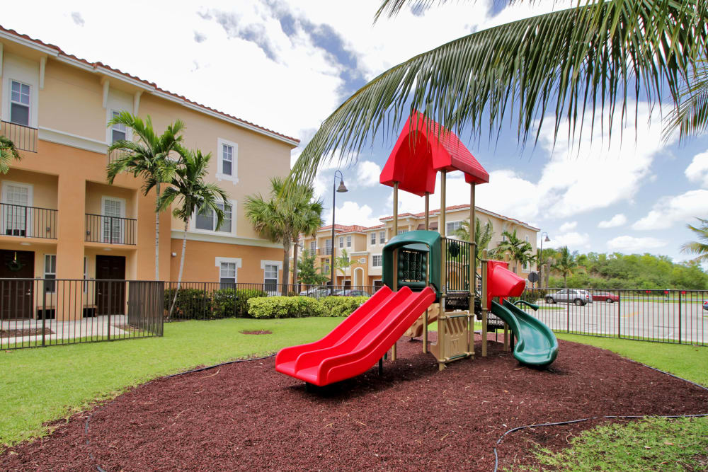 Onsite playground at IMT Miramar in Miramar, Florida