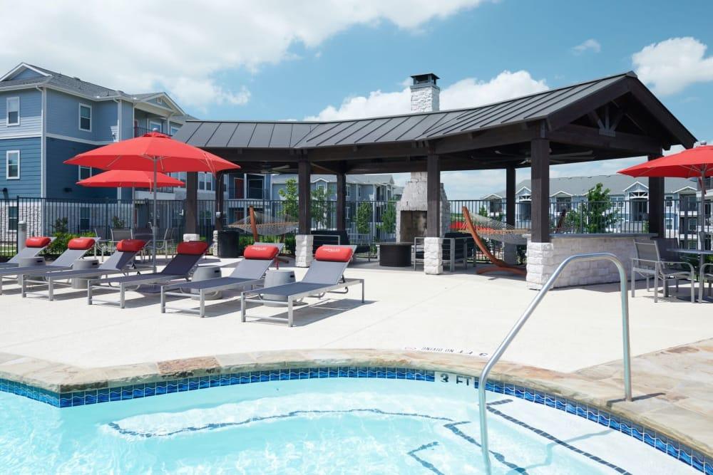 Outside Lounge Area and Pool