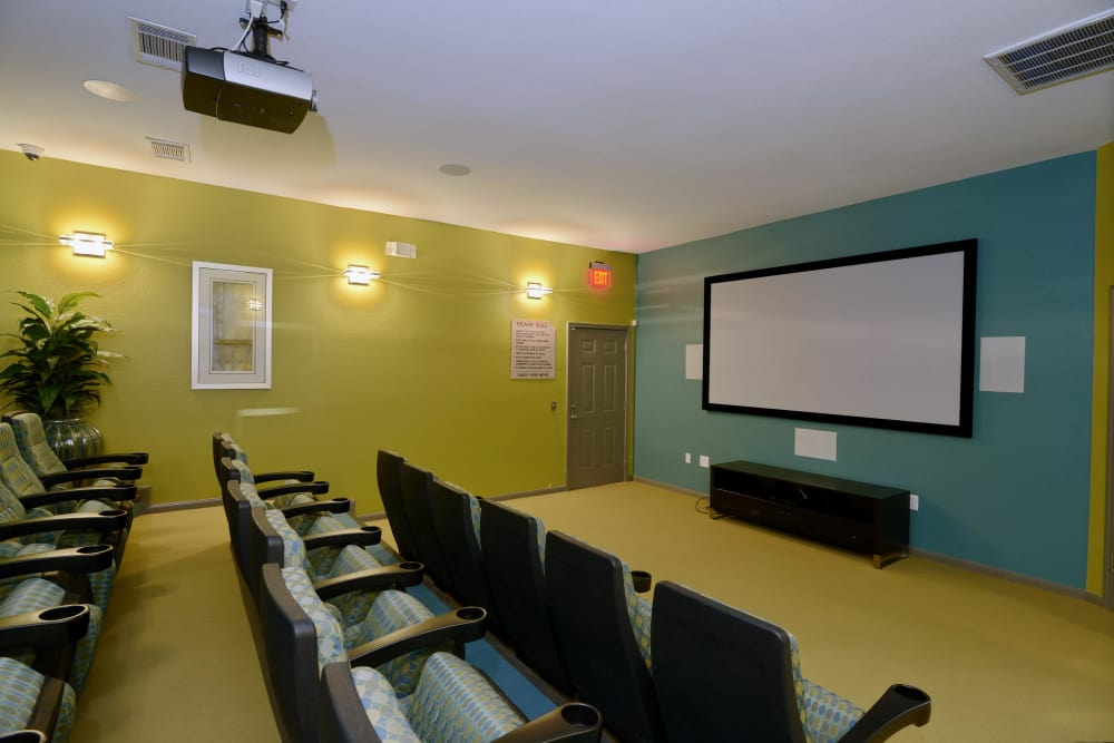 Movie theater at IMT At The Medical Center in Houston, Texas