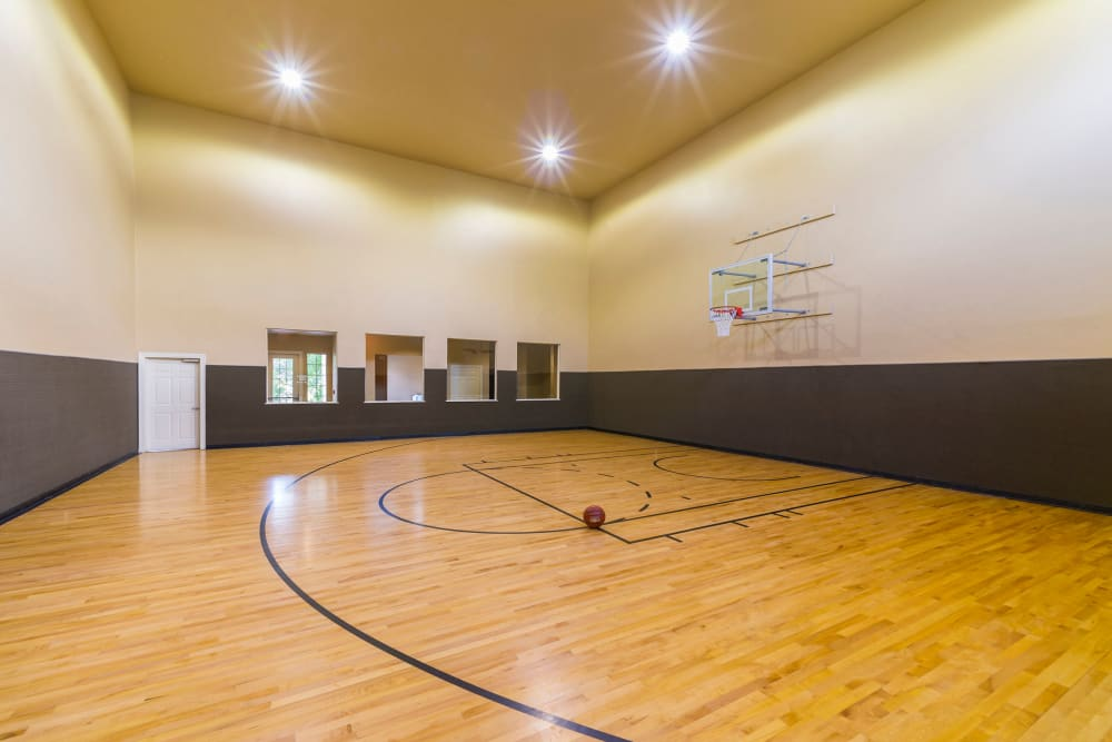 Basketball court at Villas of Vista Del Norte in San Antonio, Texas